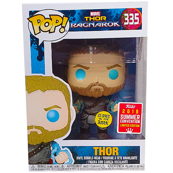 Thor Ragnarok - Thor Odins Force Glow SDCC 2018 Exclusive Pop! Vinyl Figure