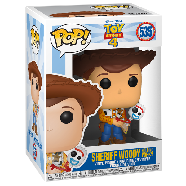 Hiei Us Exclusive Pop Vinyl: Woody With Forky US Exclusive Pop! Vinyl