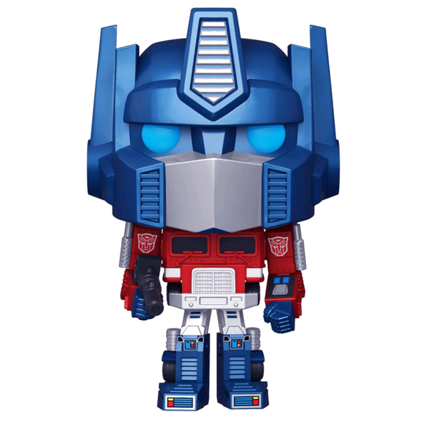 Transformers - Optimus Prime Metallic US Exclusive Pop! Vinyl Figure