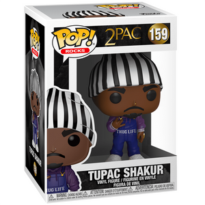 2Pac - Tupac Shakur in Thug Life Overalls US Exclusive Pop! Vinyl Figure
