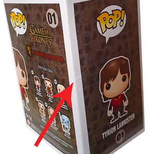 Game of Thrones - Tyrion Lannister (Scarred) Pop! Vinyl Figure