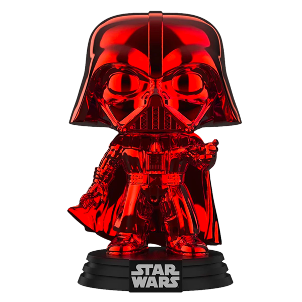 Star Wars - Darth Vader Red Chrome US Exclusive Pop! Vinyl Figure