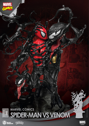 Marvel - Spider-Man Vs Venom D-Stage Diorama Statue
