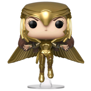 Wonder Woman 1984 - Wonder Woman Golden Armour Flying Pose US Exclusive Pop! Vinyl Figure