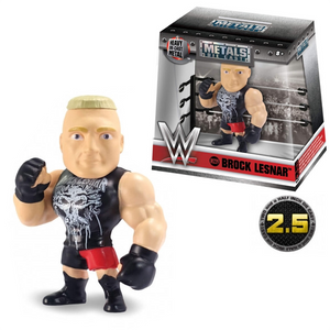 "WWE - Brock Lesnar 2.5"" Metals Die-Cast Action Figure"