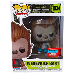 The Simpsons Treehouse of Horror - Werewolf Bart NYCC 2020 Exclusive Pop! Vinyl Figure