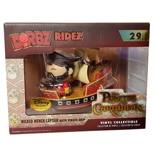 Disney - Wicked Wench Captain Disney Treasures Exclusive Dorbz Ridez