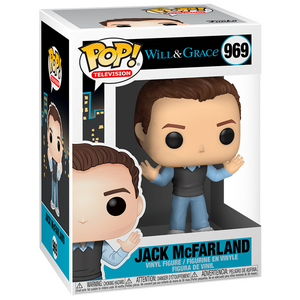 Will and Grace - Jack McFarland Pop! Vinyl Figure
