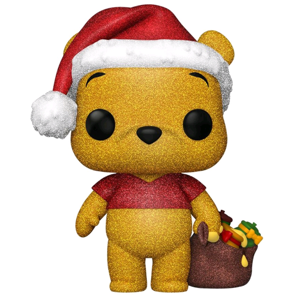 Winnie the Pooh - Winnie the Pooh Holiday Diamond Glitter US Exclusive Pop! Vinyl Figure