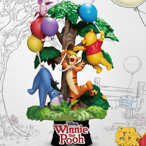Disney - Winnie the Pooh with Friends D-Stage Diorama Statue