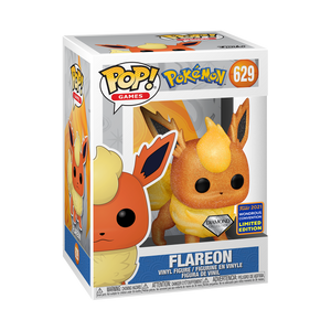 Pokemon - Flareon Diamond Glitter WonderCon 2021 Exclusive Pop! Vinyl Figure