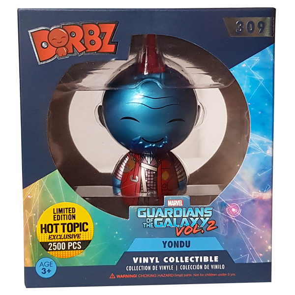Guardians of the Galaxy Vol. 2 - Yondu (Metallic) Hot Topic Exclusive Dorbz