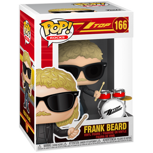ZZ Top - Frank Beard Pop! Vinyl Figure