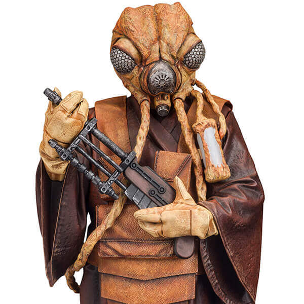 Star Wars - Bounty Hunter Zuckuss 1:10 Scale ArtFX+ Statue