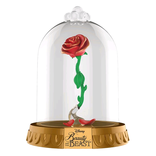 Beauty And The Beast Enchanted Rose Us Exclusive Pop Vinyl Dome