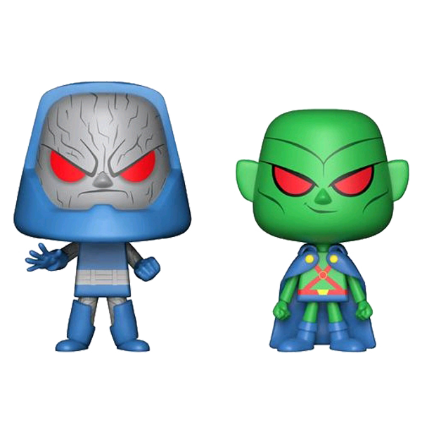 DC Super Heroes - Martian Manhunter & Darkseid Vynl.