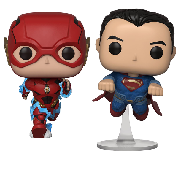 Justice League – The Flash and Superman NYCC 2018 Exclusive Pop! Vinyl Figure 2-Pack