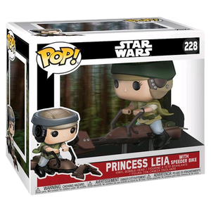 Star Wars - Princess Leia on Speeder Bike Pop! Deluxe