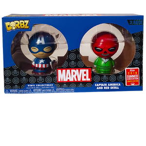 Marvel - Captain America & Red Skull SDCC 2018 Exclusive Dorbz 2-Pack
