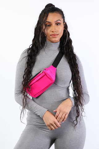 Neon Pink Fanny Pack - Dope Fein Boutique