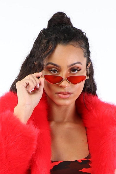 Lil Ting Shades - Red - Dope Fein Boutique