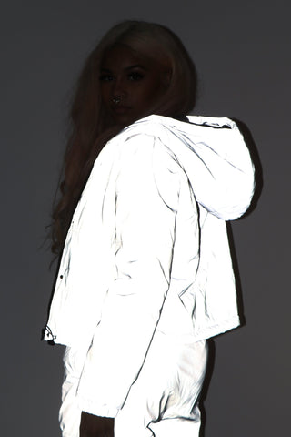 Reflective Puffer Jacket - Dope Fein Boutique