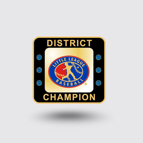 Little League Baseball District Ring   ***In Stock Item***