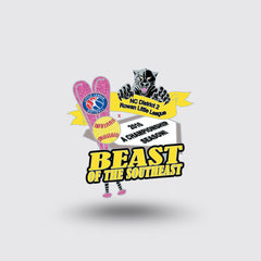 """Beast of Southeast"" Custom Pin Sample"