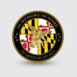 """MD Natural Resources Police"" Custom Coin Sample"