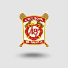 """Loyalsock Volunteer Fire Co."" Custom Pin Sample"