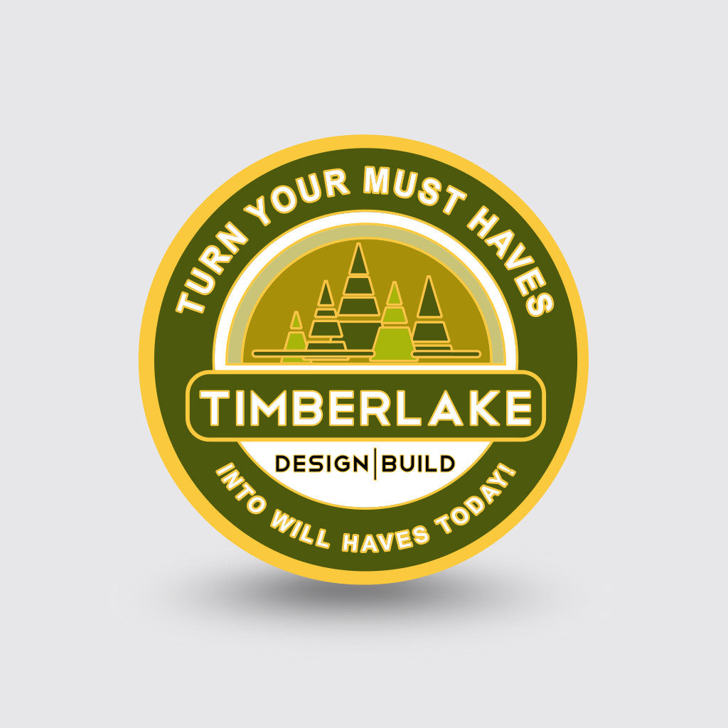 """Timberlake Homes"" Custom Coin Sample"