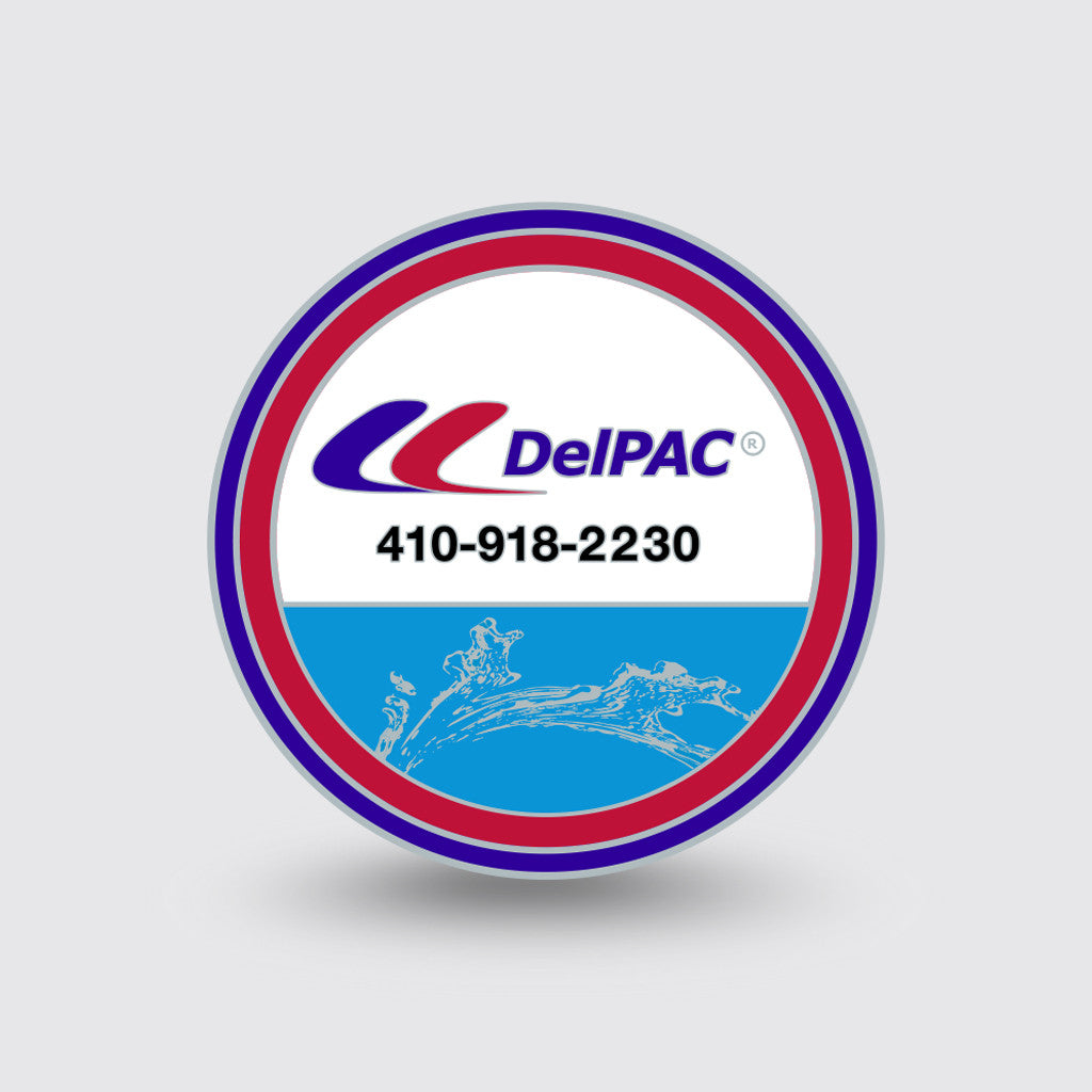 """DelPAC"" Custom Coin Sample"