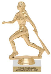 Figure on Marble Base Trophy