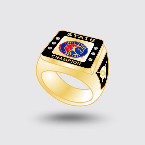 Little League Softball State Ring   ***In Stock Item***