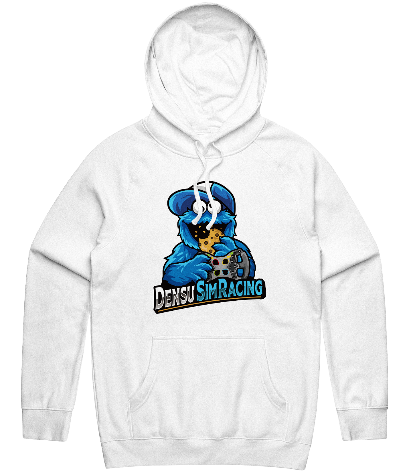 Bang Text Hoodie - White / Hoodie / Bang Esports / ARMA / Custom Esports Jerseys / Esports Jerseys / Gaming Apparel