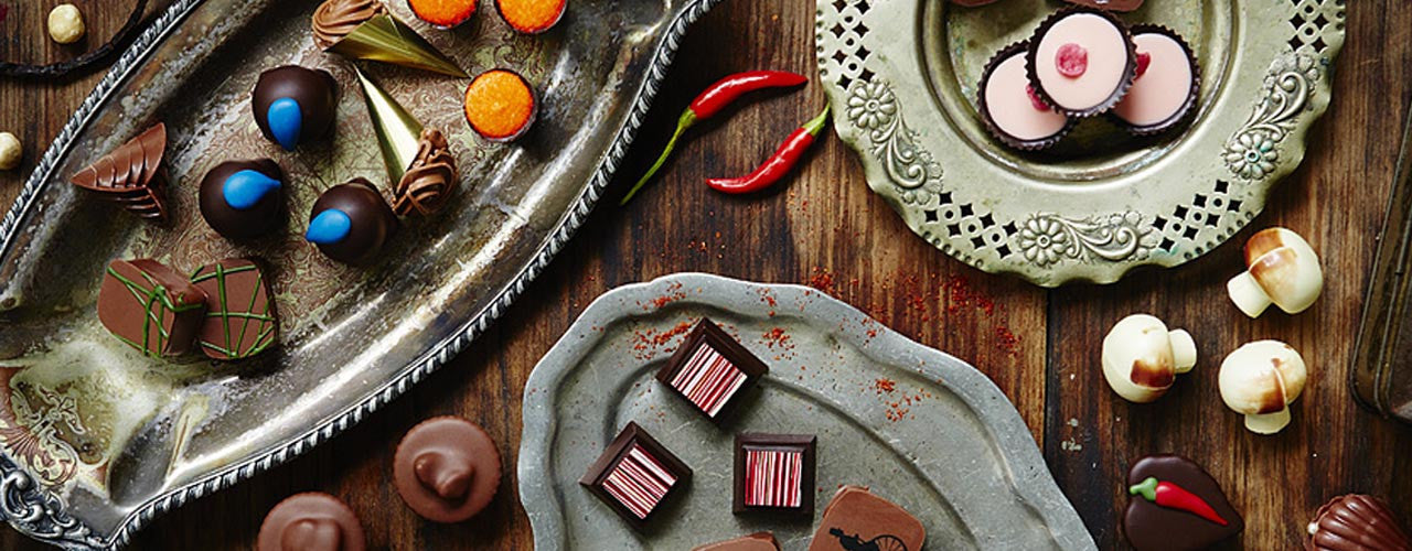 Luxury handmade chocolate gifts