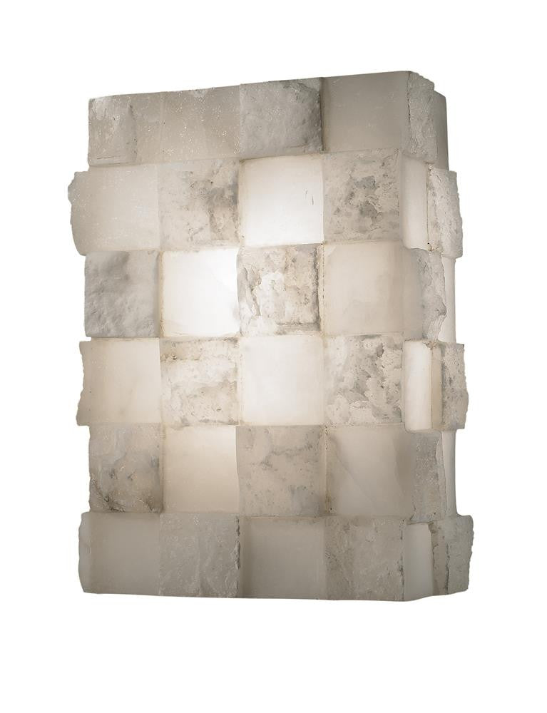 2 Light Wall Sconce Alabaster AB20