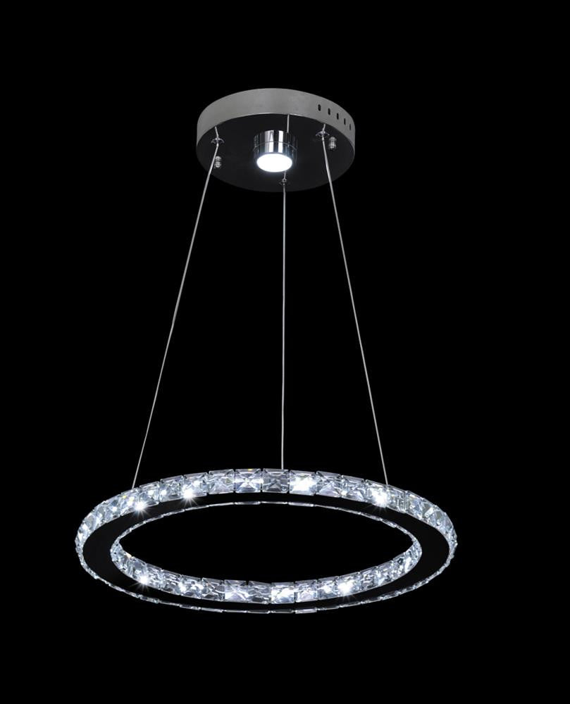 Led Clear Crystal Pendant KD03