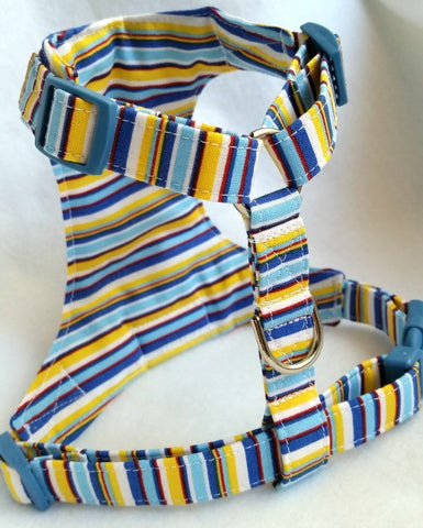 Sunny Plaid Small Dog Harness