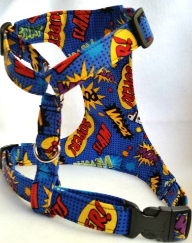 Superheroes Dog Harness