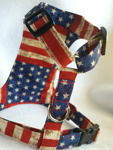 Patriotic Stripes Harness