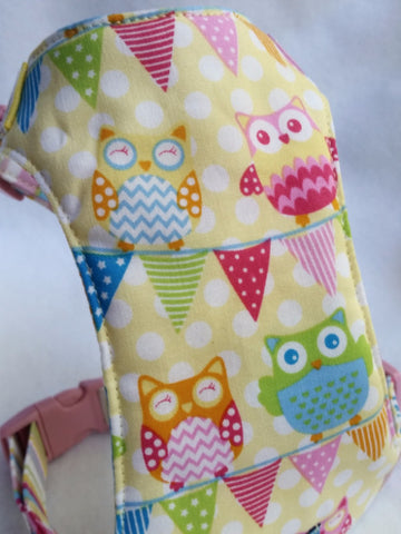 Bunting Allover Owls Harness