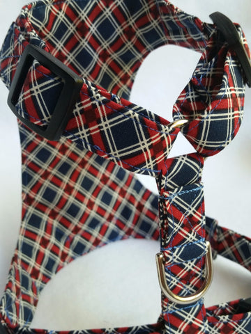 Love & Glory Small Plaid Harness