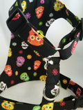 Color Bright Skulls Harness