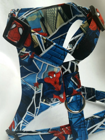 Spider Man Custom Made Dog Harness