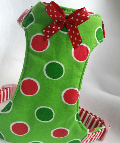 Christmas Dots Harness