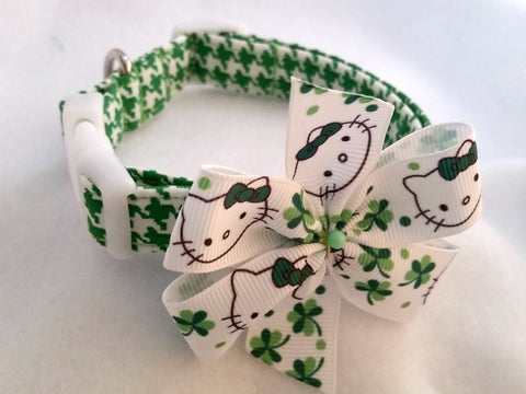 Lucky Kitty Dog Collar