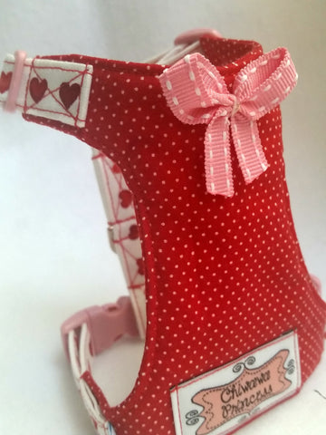Red Heart Small Dog Harness