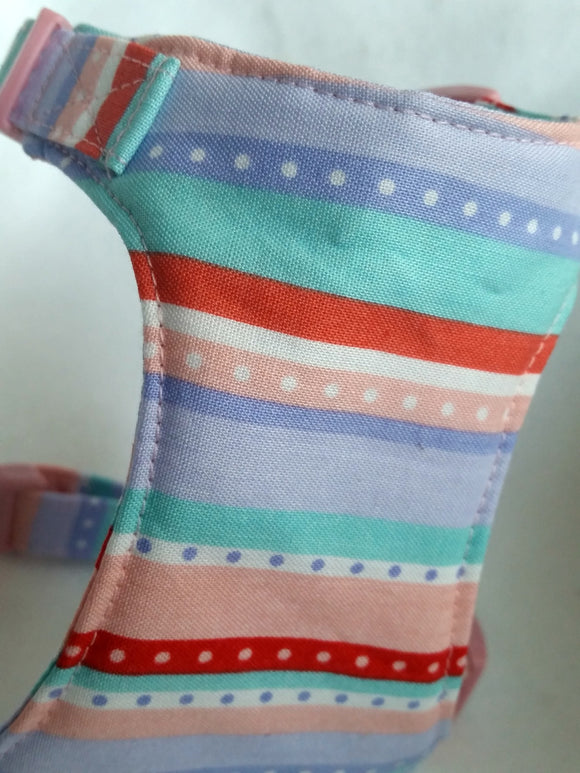 Candy land Soft Dog Harness