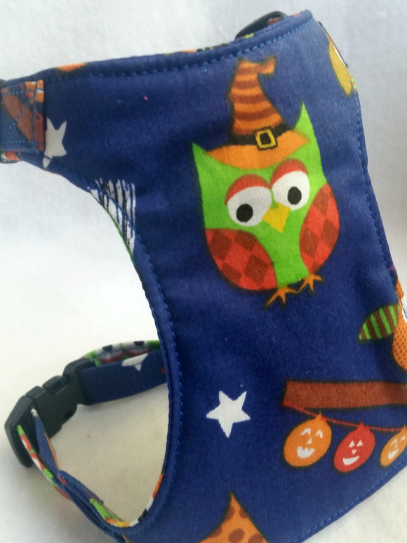 Halloween owls  Harness